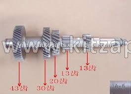 ВАЛ КПП 4/4 ПРОМЕЖУТОЧНЫЙ Great Wall Hover H5 ZM001A-1701301-6-RE